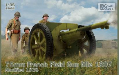1/35 Новинки от IBG Models — 75-мм полевые пушки Mle 1897/38-40