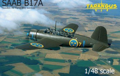 1/48 Tarangus — бомбардировщик Saab 17A