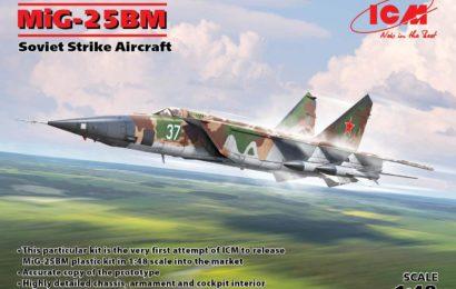 1/48 МиГ-25БМ от ICM