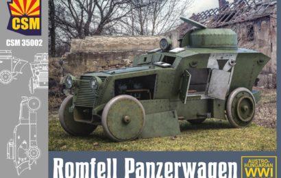 1/35 CSM Бронеавтомобиль Romfell
