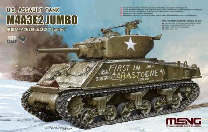 1/35 Meng Model M4A3E2 Jumbo
