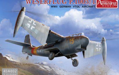 Как проект стал моделью – Weserflug P.1003/1